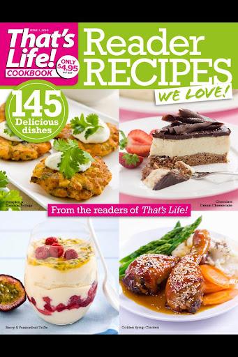 that's life Reader Recipes