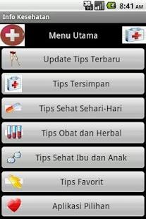 Info Kesehatan - screenshot thumbnail