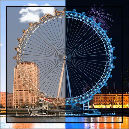 Fireworks London Eye LWP HD