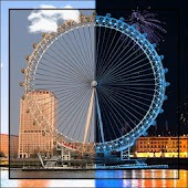 Fireworks London Eye LWP HD
