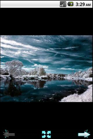 Infrared photography - screenshot