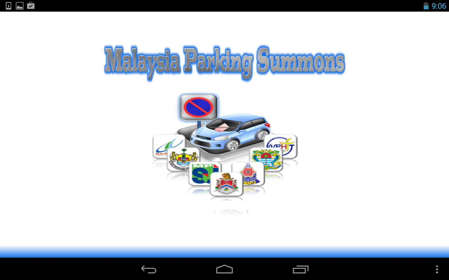 Malaysia Parking Summons - screenshot