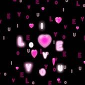 3D love love