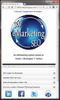 Screenshot of 360 eMarketing SEO Mobile