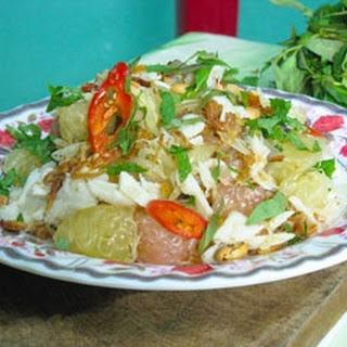 Pomelo And Mud Crab Salad