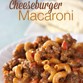 Cheeseburger Macaroni.