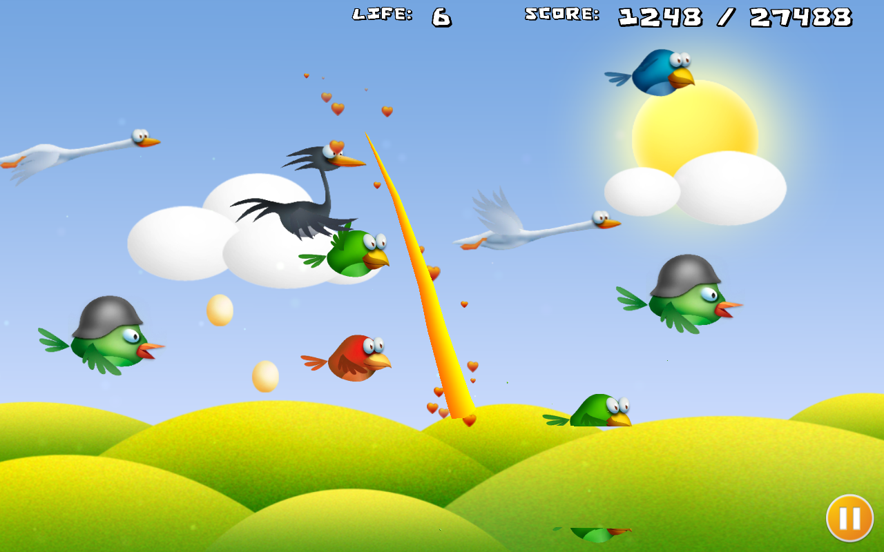 Bird Ninja - screenshot