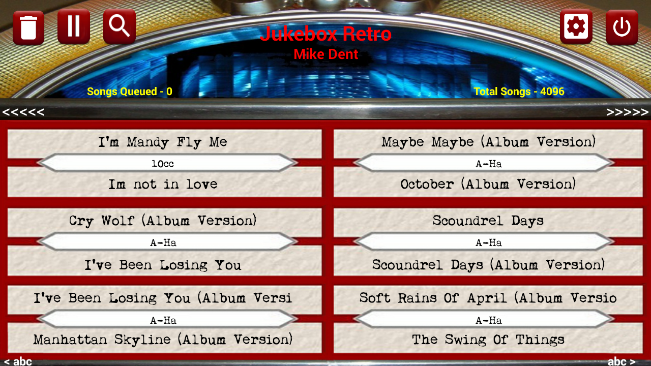 Jukebox Retro (Jukebox 2012)- screenshot