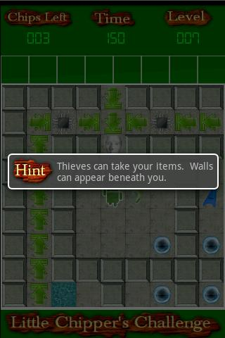 Chipper's Challenge- screenshot