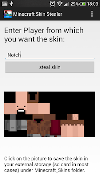 Download Minecraft Skin Stealer For By Ronny Cetindere APK Latest - Minecraft skin stealer name mc