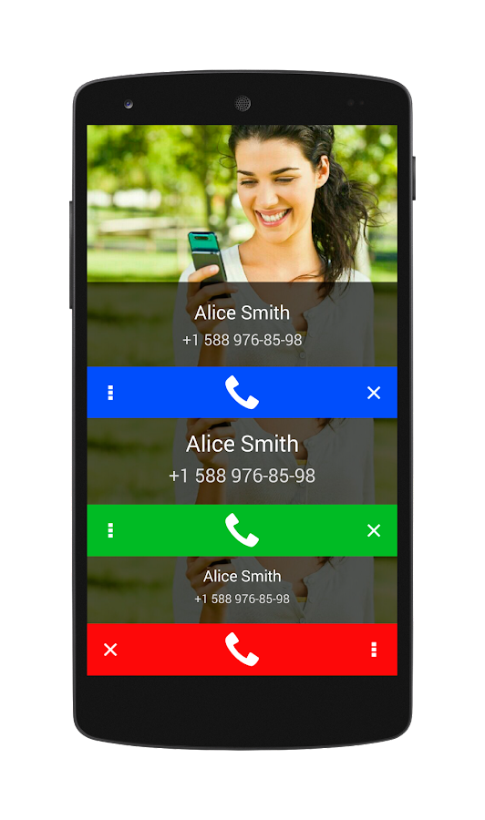 Call Confirm - screenshot