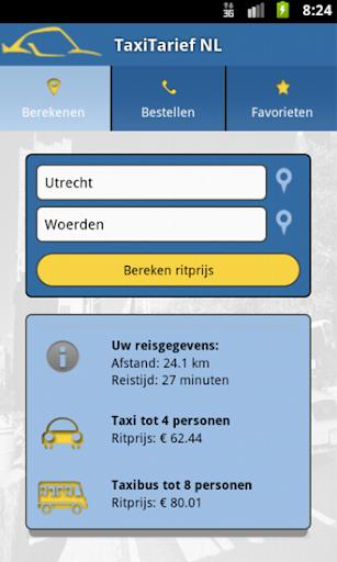 TaxiTarief Nederland