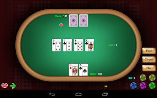 Screenshot of Texas Hold'em Poker
