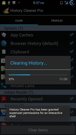 History Cleaner Pro for Root