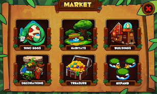 Dino Island screenshot for Android
