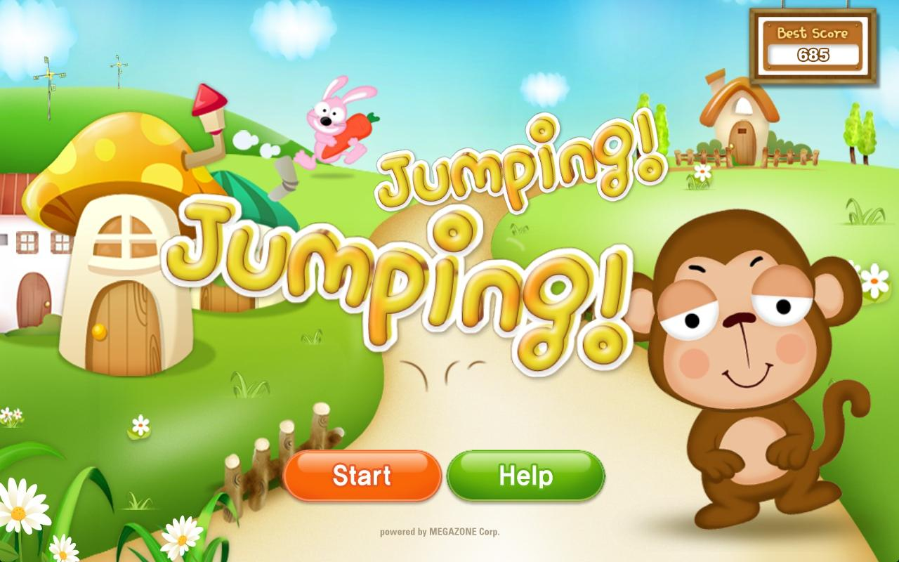 JumpingJumping HD - screenshot