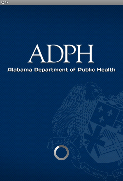 AL Department of Public Health - screenshot