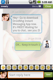 DROIDMSG - Chat, Meet, Dating - screenshot thumbnail