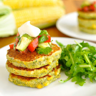 Bill Grangers Corn Fritters with Avocado Salsa Recipe