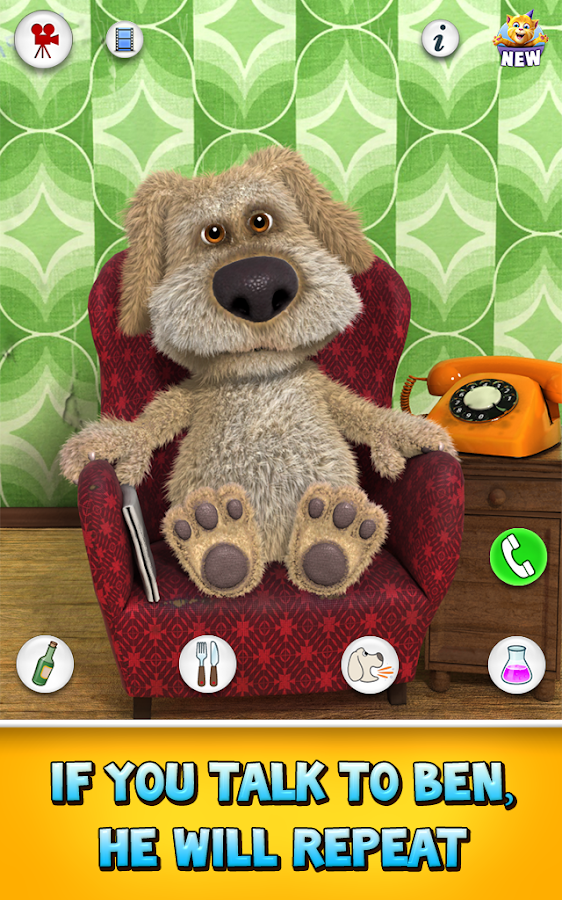 Talking Ben the Dog Free - screenshot