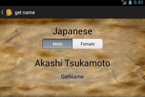 Names for RPG