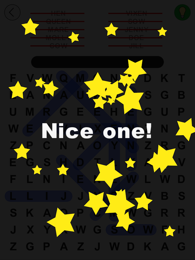 Word Search and Find- screenshot