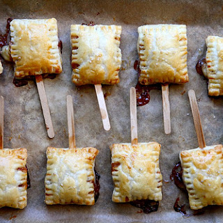 Bite-sized Baked Brie.