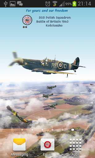 Fighter Squadron 303 Wallpaper
