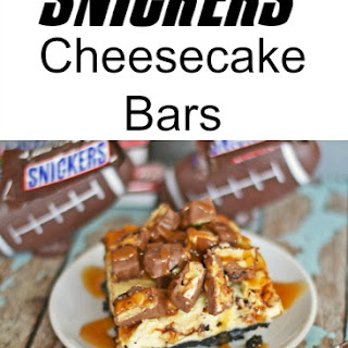 SNICKERS® Cheesecake Bars #Chocolate4TheWin