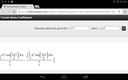 Fourier Series Calculator