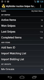 Myibidder Sniper for eBay Pro- screenshot thumbnail
