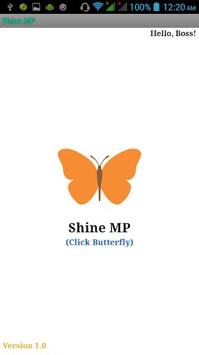 Shine MP Mobile Presentation