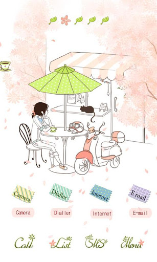 CUKI Theme Tea under Tree