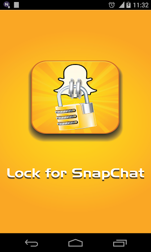 的SnapLock(鎖定為Snapchat)
