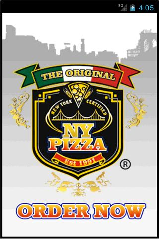 The Original NY Pizza- screenshot