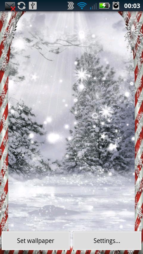 Christmas Snowflakes - screenshot
