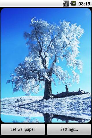 Snowscape Live Wallpaper