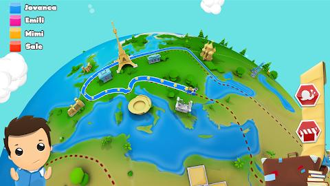 Geography Quiz Game 3D Screenshot 2