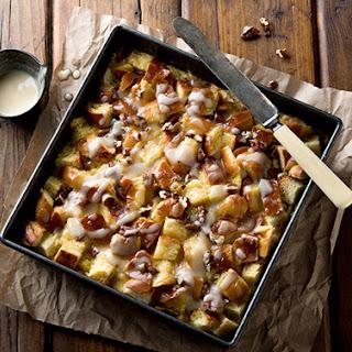 Maple Pecan Bread Pudding Recipe