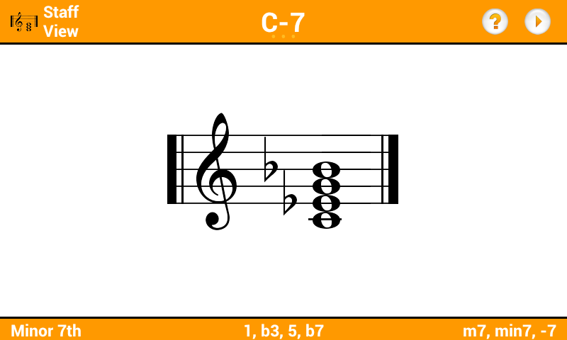 KeyChord - Piano Chords/Scales - screenshot