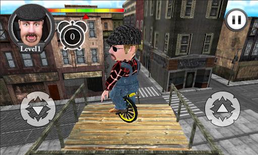 胖子鋼索獨輪車 3D HD