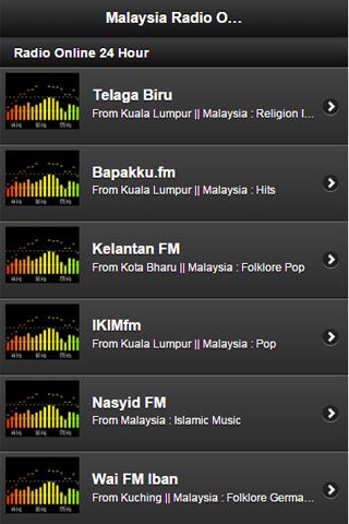 Malaysia Radio Online