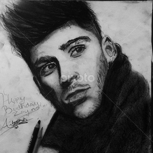 Zayn Malik All Drawing Drawing Pixoto