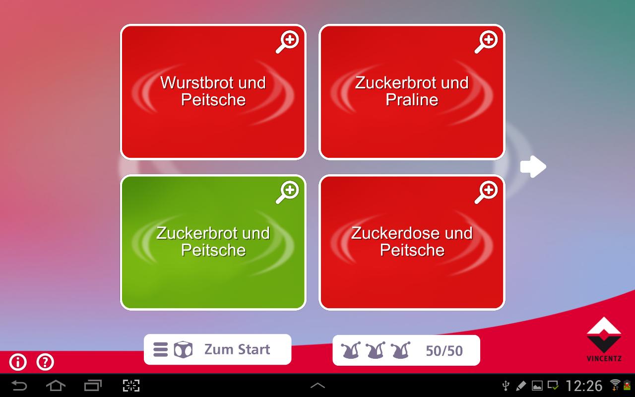 Sprichwortquiz – die App Lite - screenshot