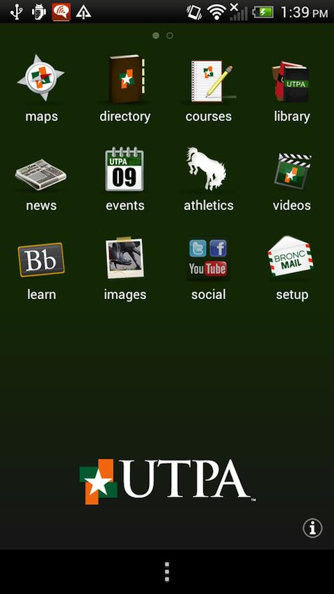 UTPA - screenshot