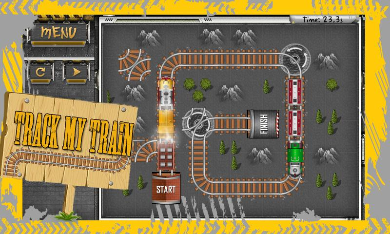 Track My Train - screenshot