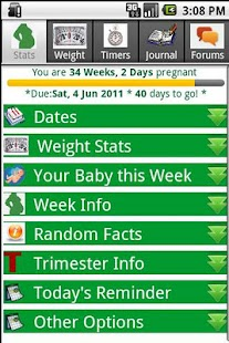 Happy Pregnancy Ticker- screenshot thumbnail