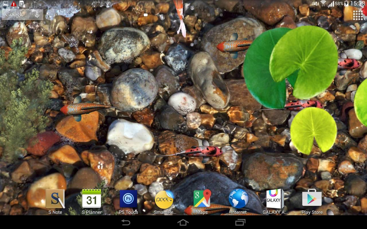 Fish aquarium live wallpaper - Aquarium Live Wallpaper 3d Screenshot