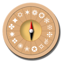 Magic compass icon