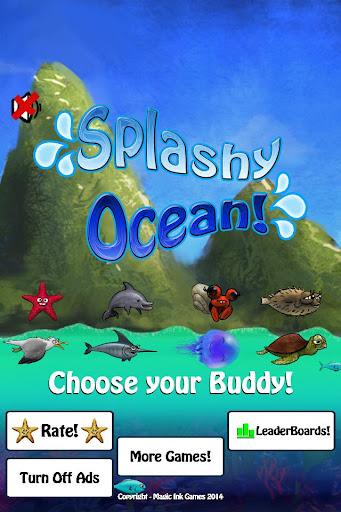 Splashy Ocean
